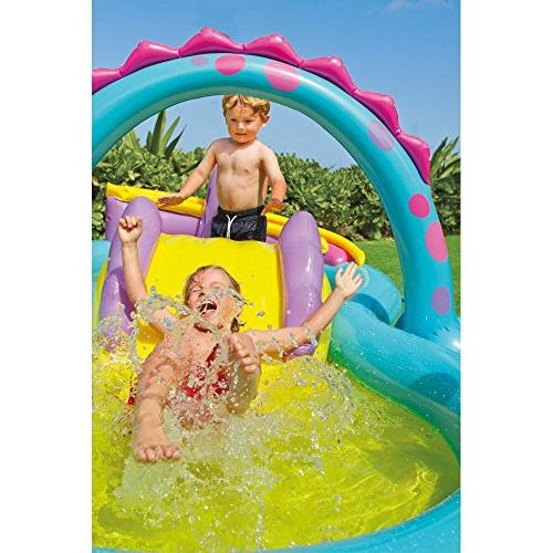 "Intex Dinoland Inflatable Center, 90"" X 3+"