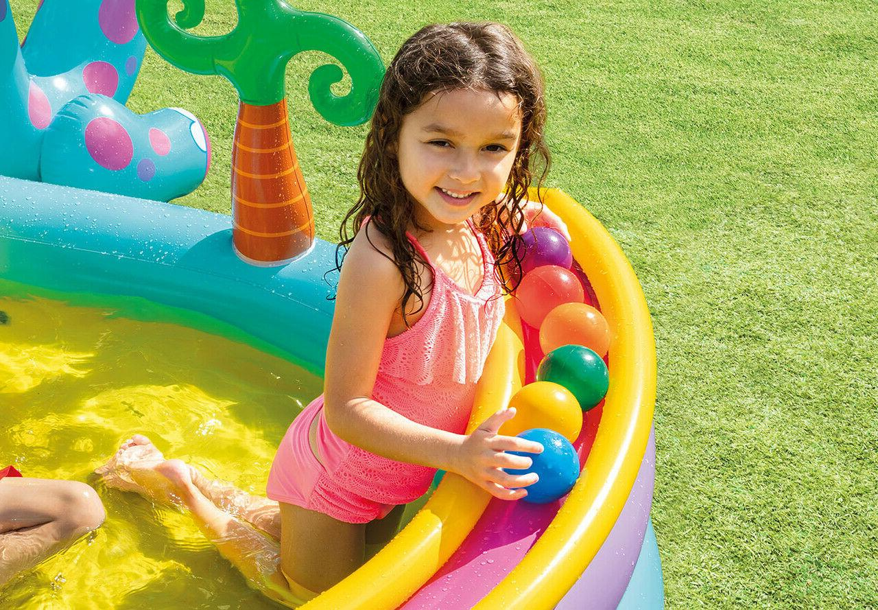 Intex Dinosaur Swim Play Backyard Pool