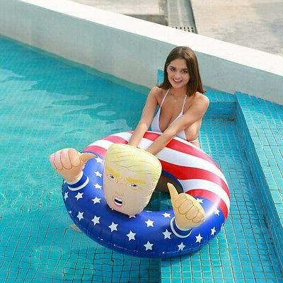 Donald 47' Swimming Floats Inflatable Raft Float Beach Party Toy