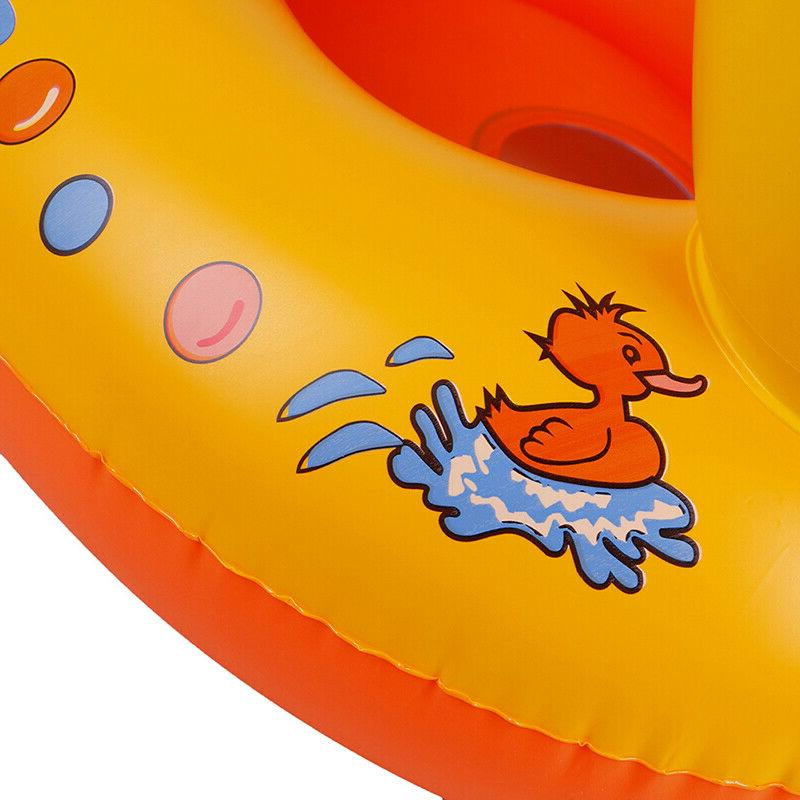 Duck Float Kids Inflatable Baby Toddler Swimming Seat RingJKUS