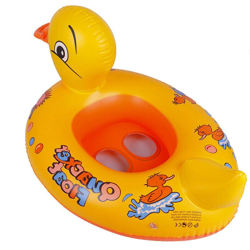 Duck Kids Baby Toddler Swimming Seat Pool Animal RingJKUS
