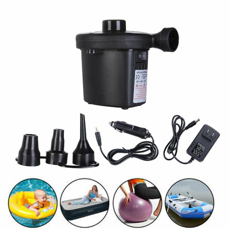 electric portable air pump for inflatables air