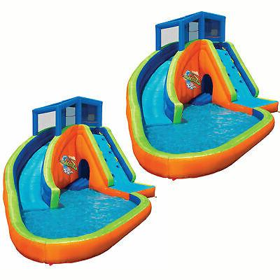 falls inflatable water park kiddie pool