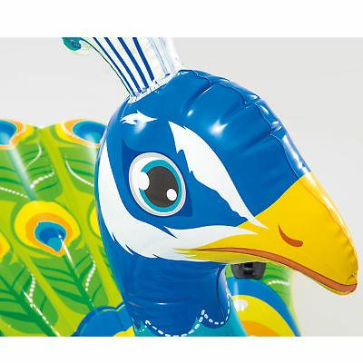 Intex Inflatable Colorful Peacock Swimming Pool Raft