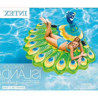 Intex Peacock Island Ride Swimming Float