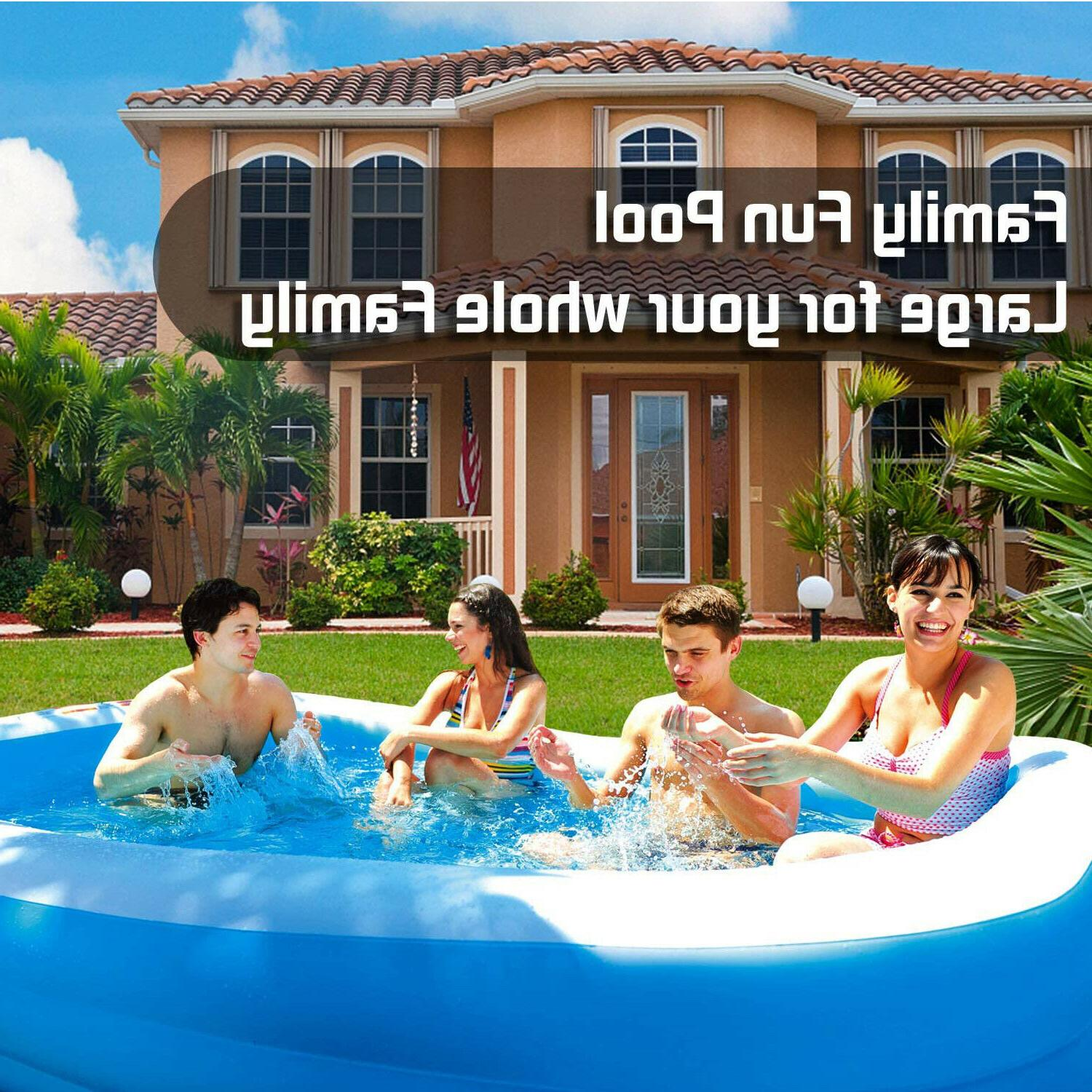 Giant Inflatable Kiddie Family Kids 10 22""
