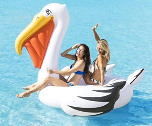 Gigantic Inflatable Ride On Float Pool Beach 7 Ft