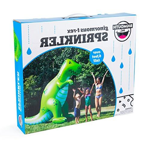 BigMouth Green Sprinkler, Stands Feet Perfect Summer