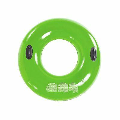 green pool inflatable handle ring suitable