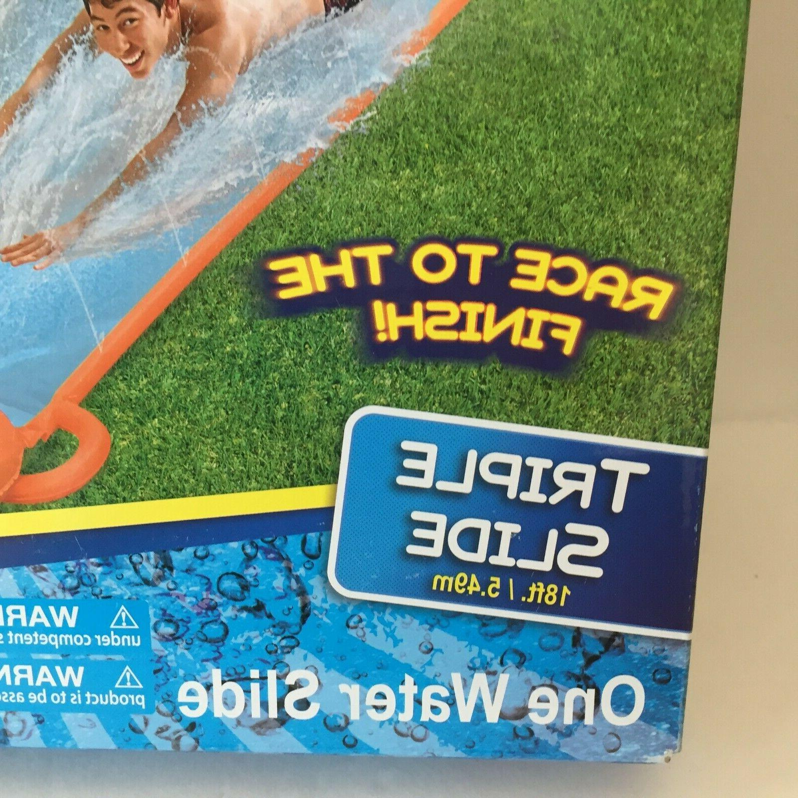 H20GO! 18' Inflatable Water Slide Speed Pool Summer Lawn