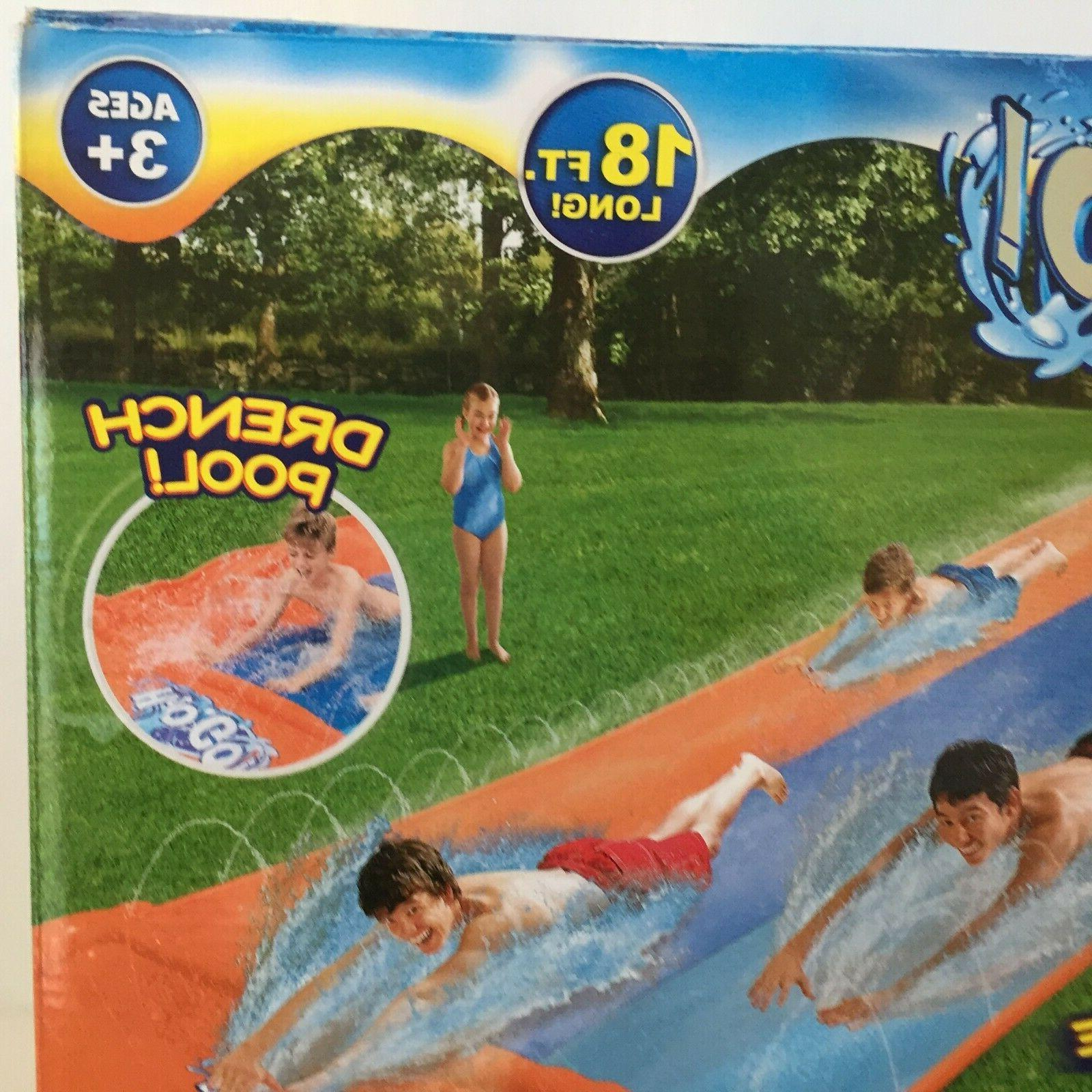 H20GO! Lane Inflatable Slide Speed Lawn