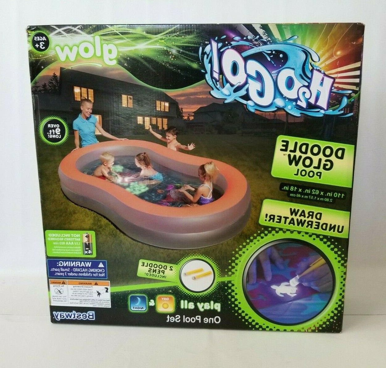 h2ogo doodle glow inflatable play