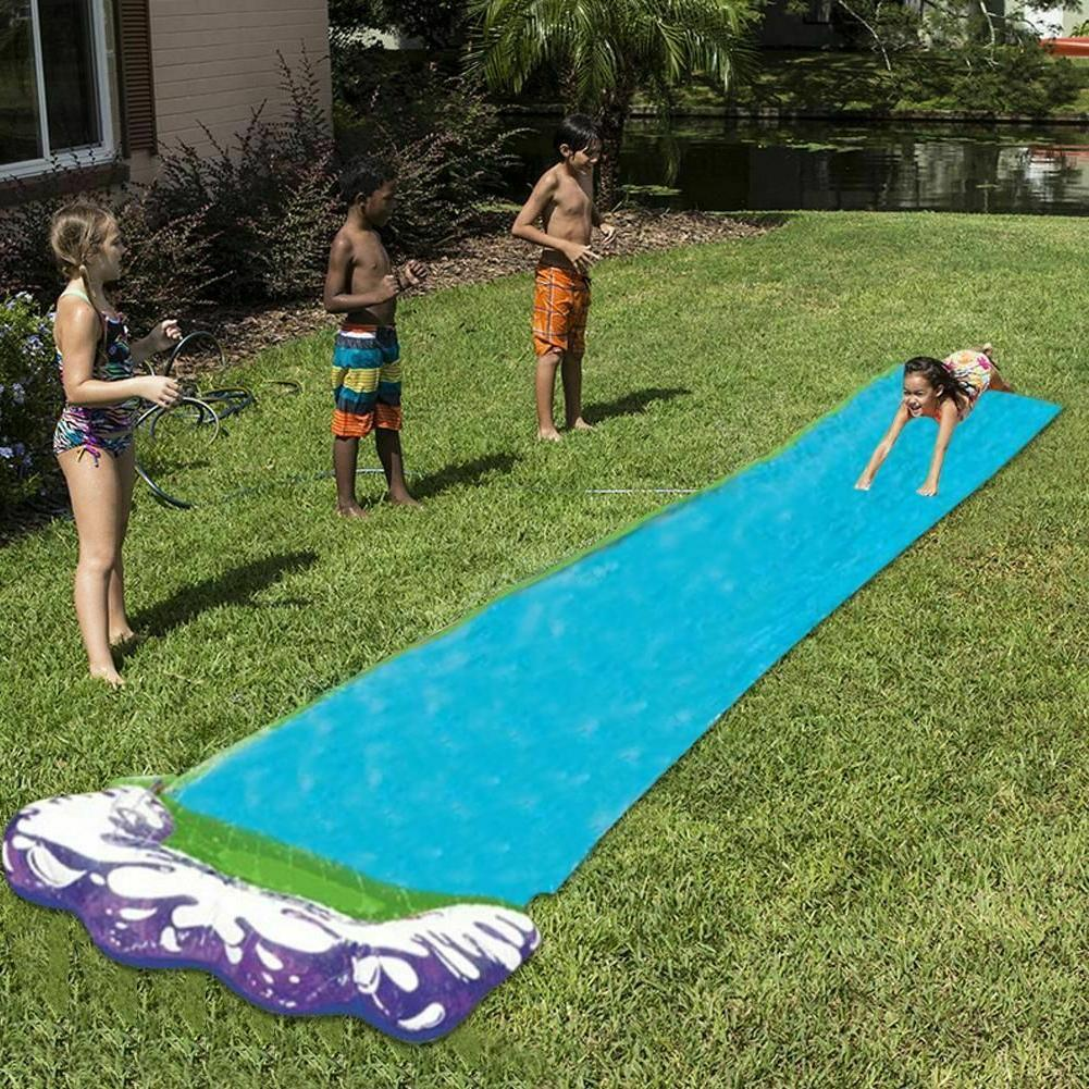 Hot 4.8 m Single Water Slide PVC Inflatable Fun Outdoor Toys