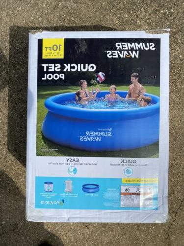 inflatable above ground swimming pool 10 x30