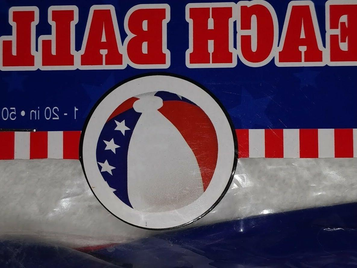 Inflatable Beach New Sealed US FLAG