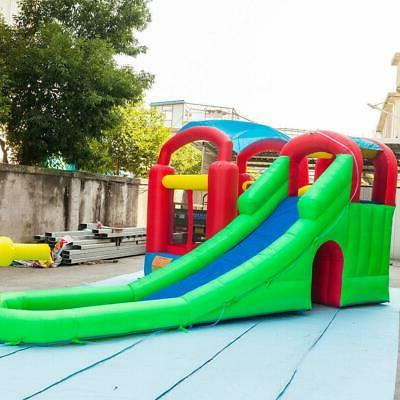 Inflatable Castle Slide Pool House w/