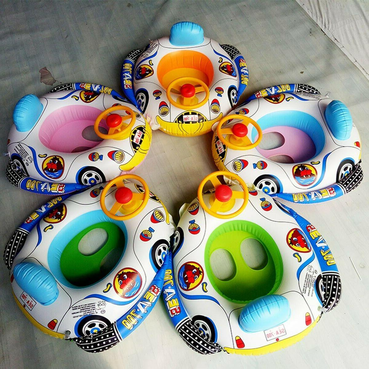 Inflatable Swimming Ring Baby Toddler Swimming
