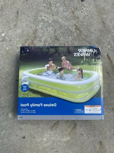 Summer Waves Family Pool 8ft SHIPPING