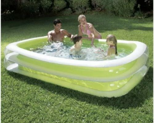 inflatable deluxe family pool 8ft fast shipping