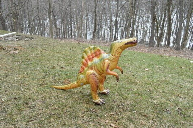Inflatable Dinosaur Long Blow Up For Party, Yard Gift