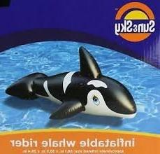 Inflatable Dolphin Rider Pool Toy by Sun&Sky