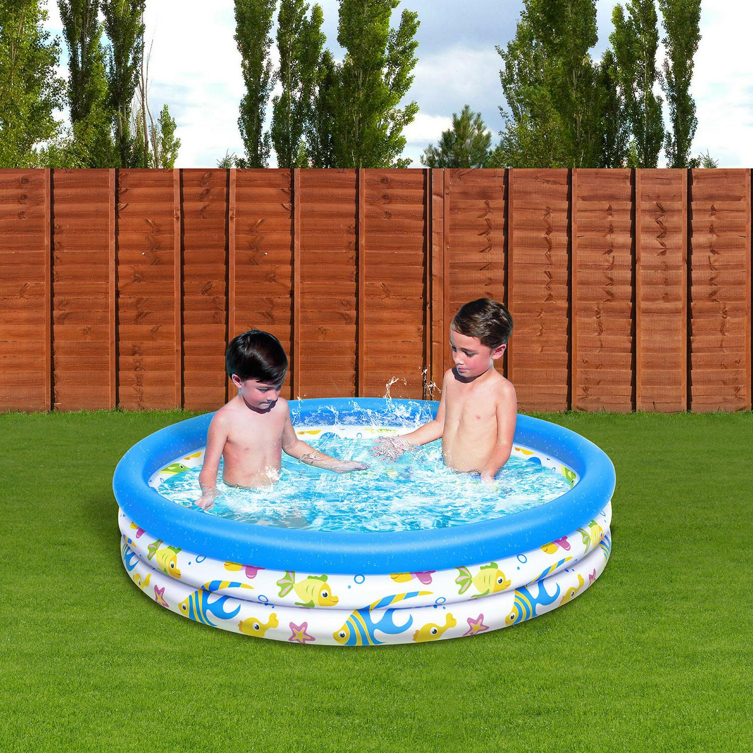 Inflatable Fish Instant Water Play Pool for