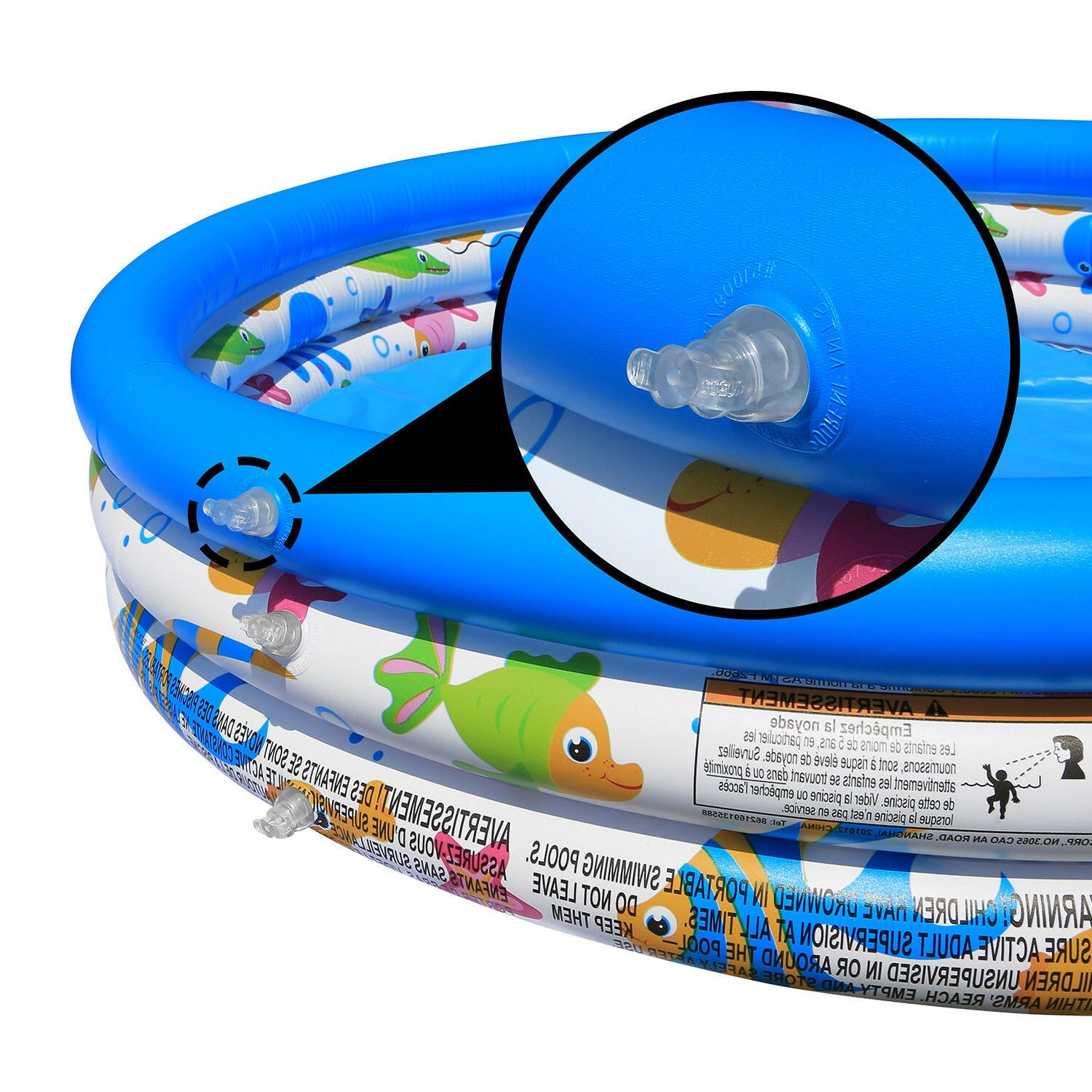 Inflatable Fantasy Fish Instant Water Play Pool