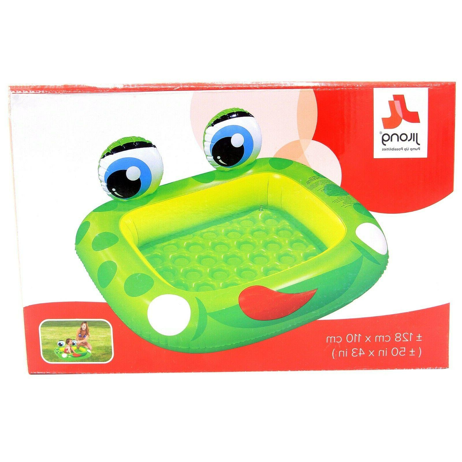 Inflatable Frog Swimming Pool 50x43