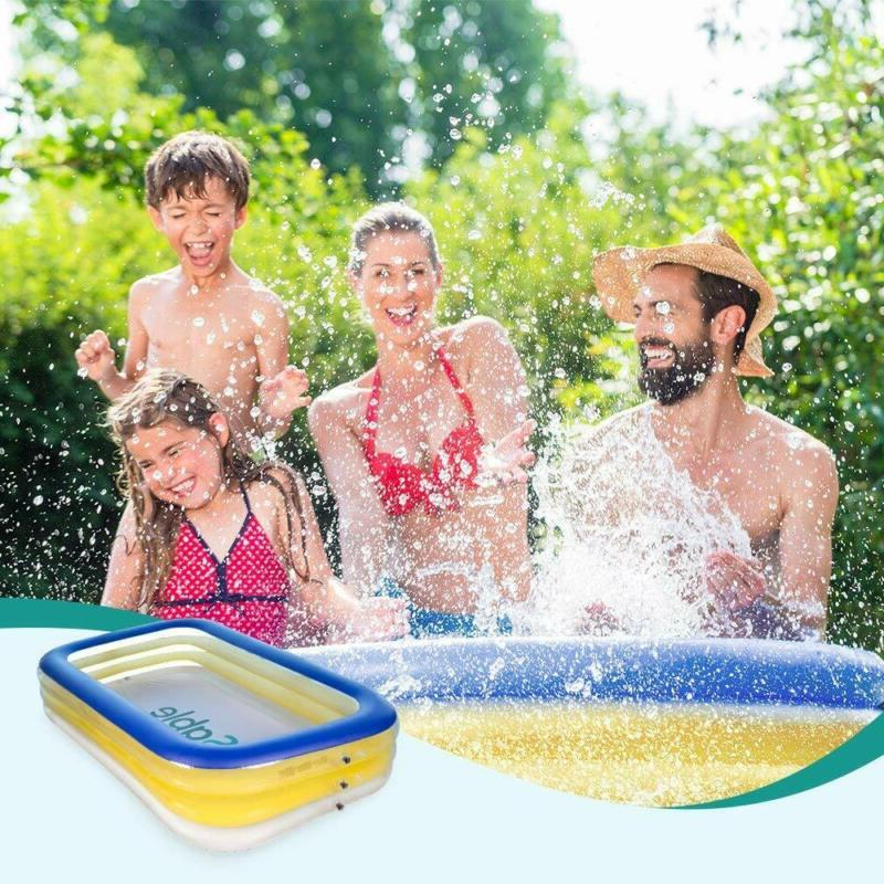 Inflatable Family Swim Rectangular 3+ Kids