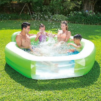 Summer Inflatable Family Swimming Rest and