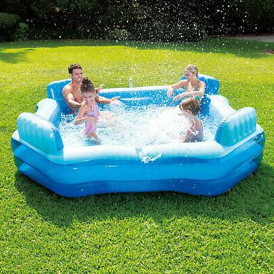 Summer Inflatable Beach Lake Deluxe Swimming