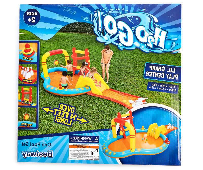 inflatable kids water play center lil champ