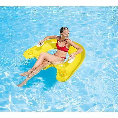 Intex Inflatable Lounge Float Pool Adults Holder