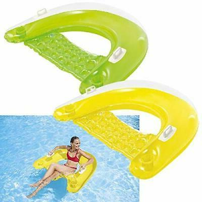 inflatable lounge lounger float chair pool