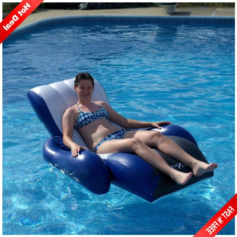 inflatable lounge swimming pool floats for adults