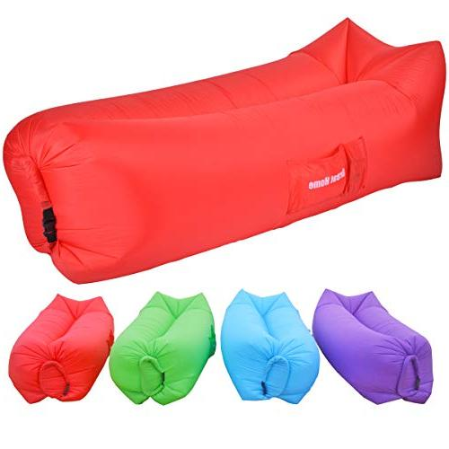 inflatable lounger air chair couch