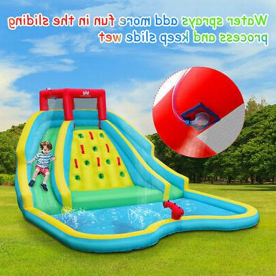 Inflatable Mighty Water Park Bouncy Pool Blower