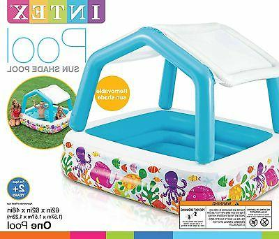 Intex Ocean Sun Shade Pool With 57470EP