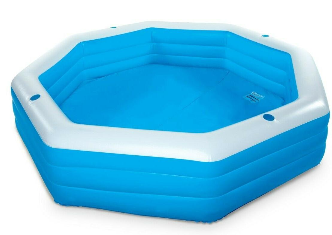 Summer Waves Inflatable Family Swimming ft Long