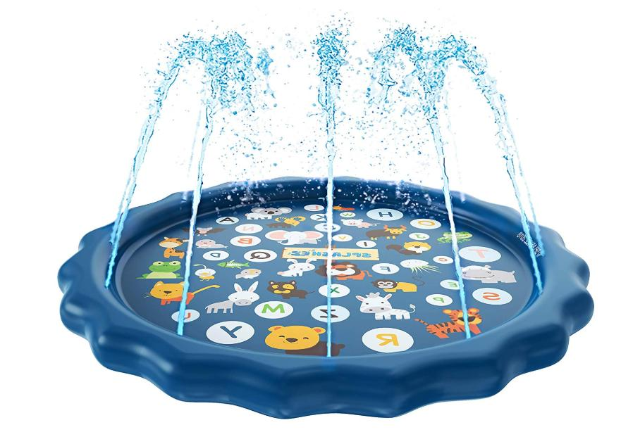 Inflatable Swimming Pool Water With Sprinkler For Z