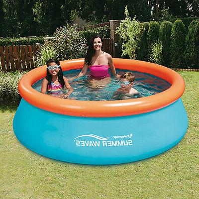 30in Inflatable Kids Ground Pool