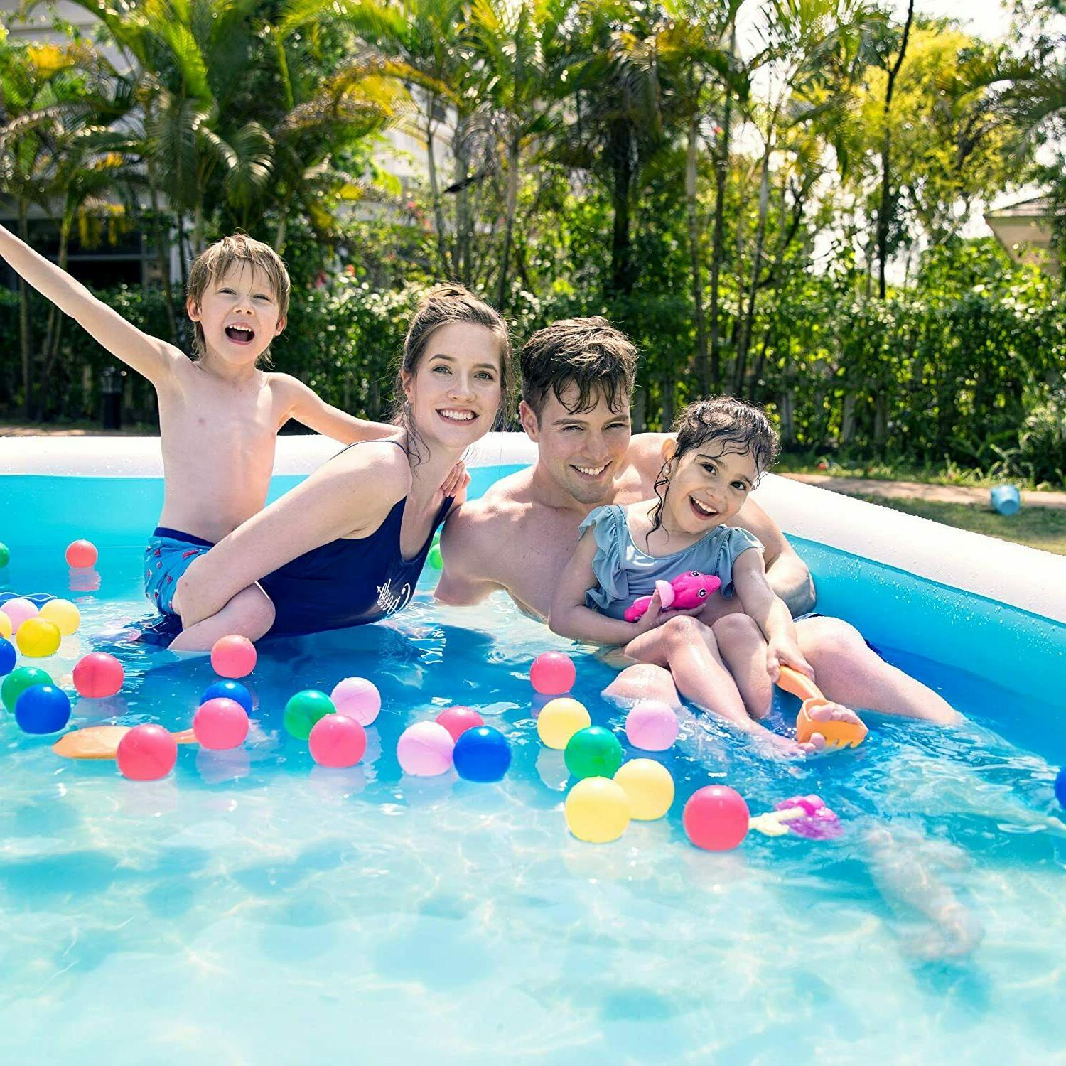 Inflatable Pool, Family Kids,Toddlers, Infant,