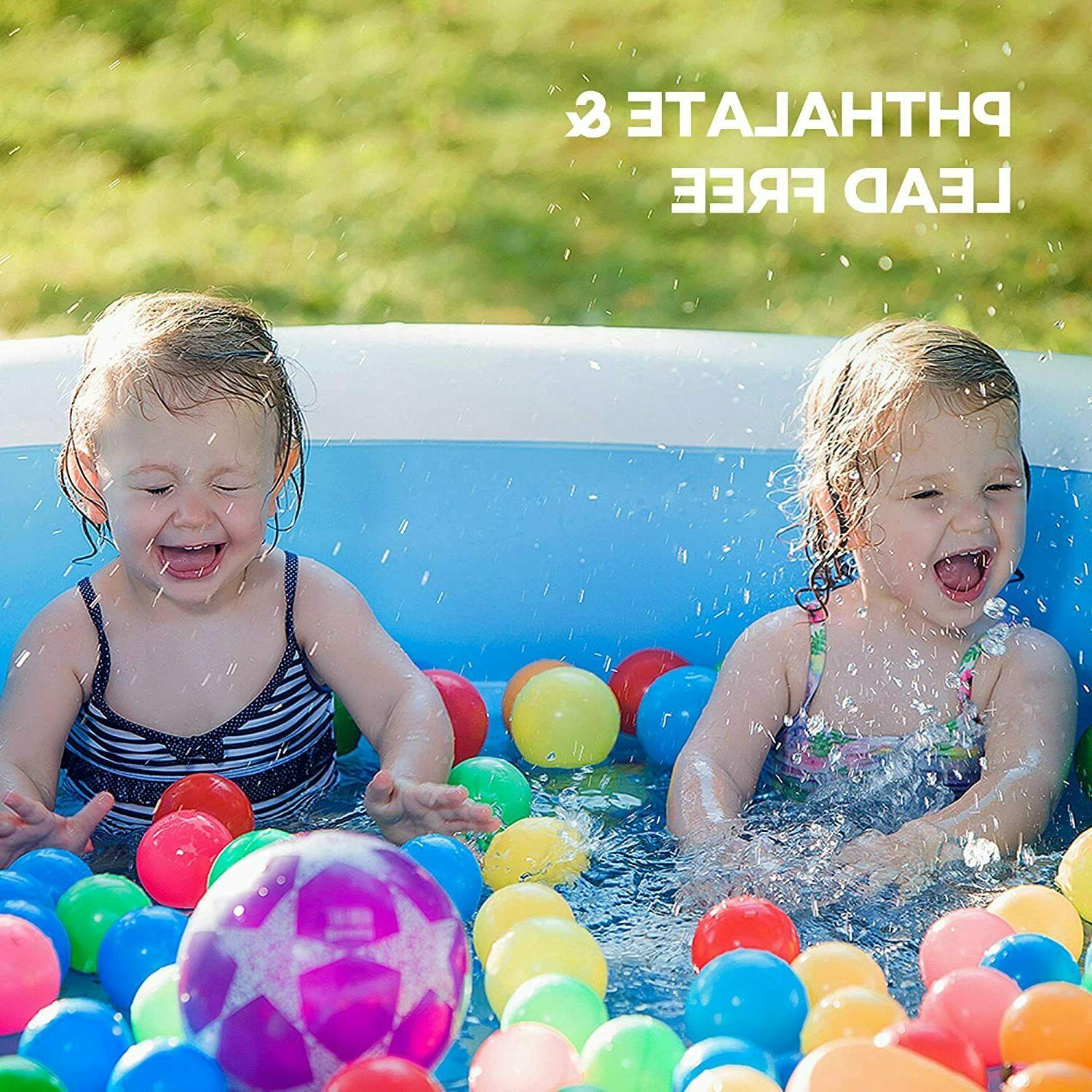 Inflatable Family Full-Sized Pool for Kids,Toddlers, Infant, Adult