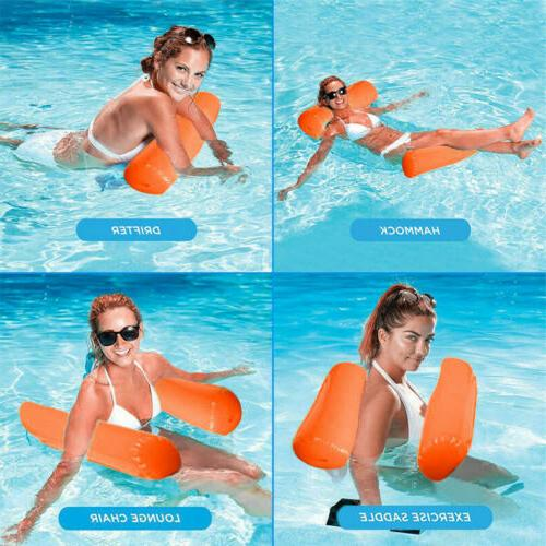 Inflatable Pool Hammock Floats Lounge Chair Drifter