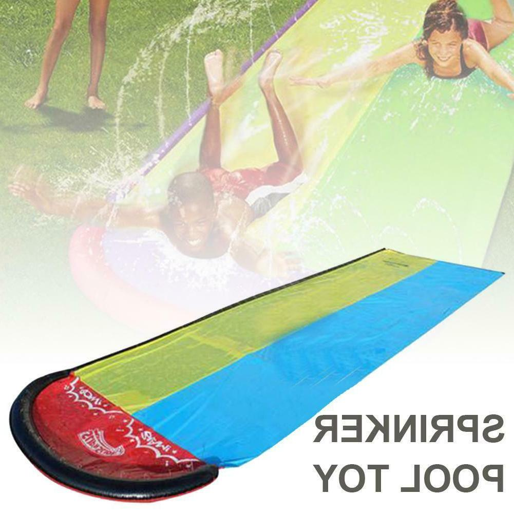 Inflatable Lawn Water Slide Outdoor Kids