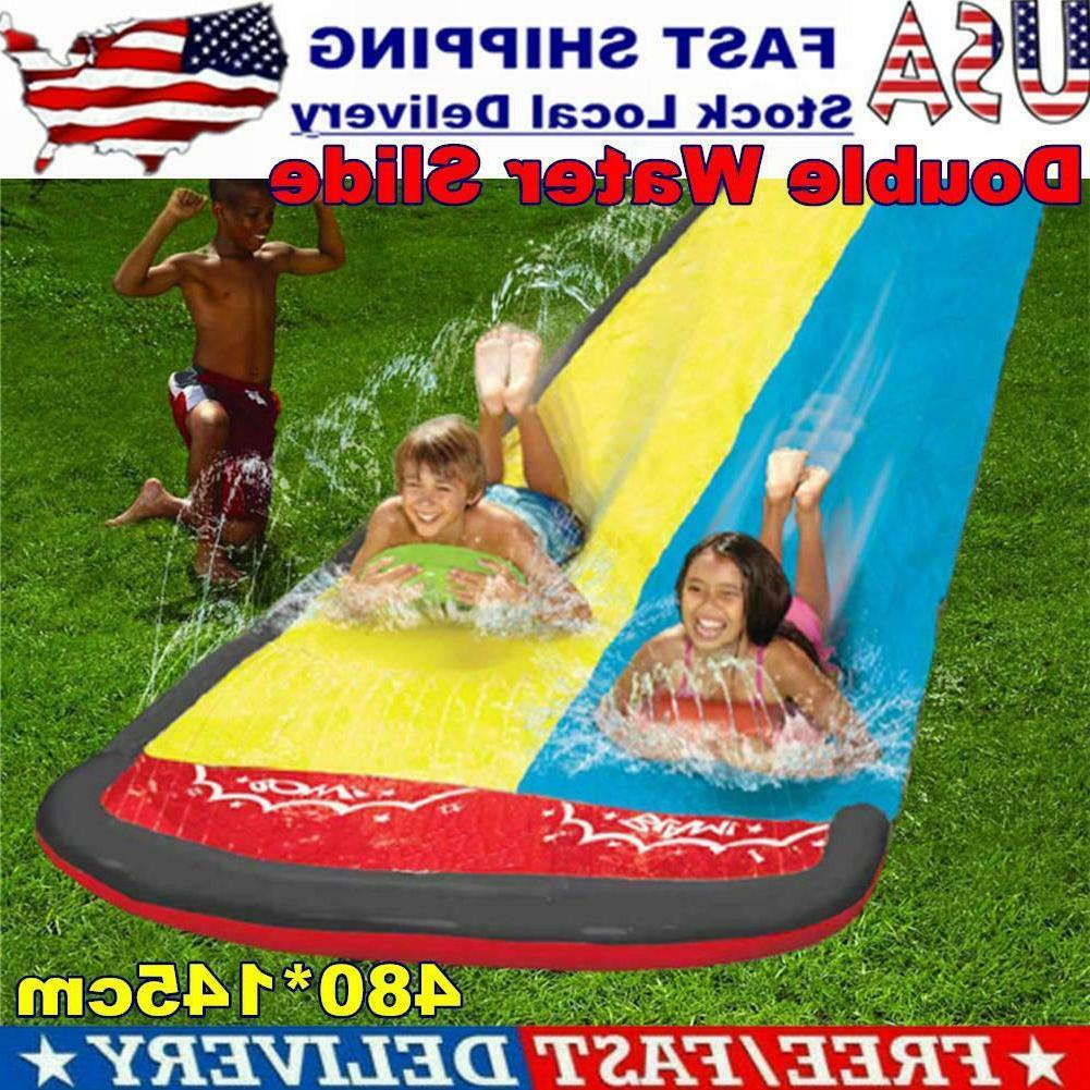 Inflatable Water Slide Outdoor For Kids Plays
