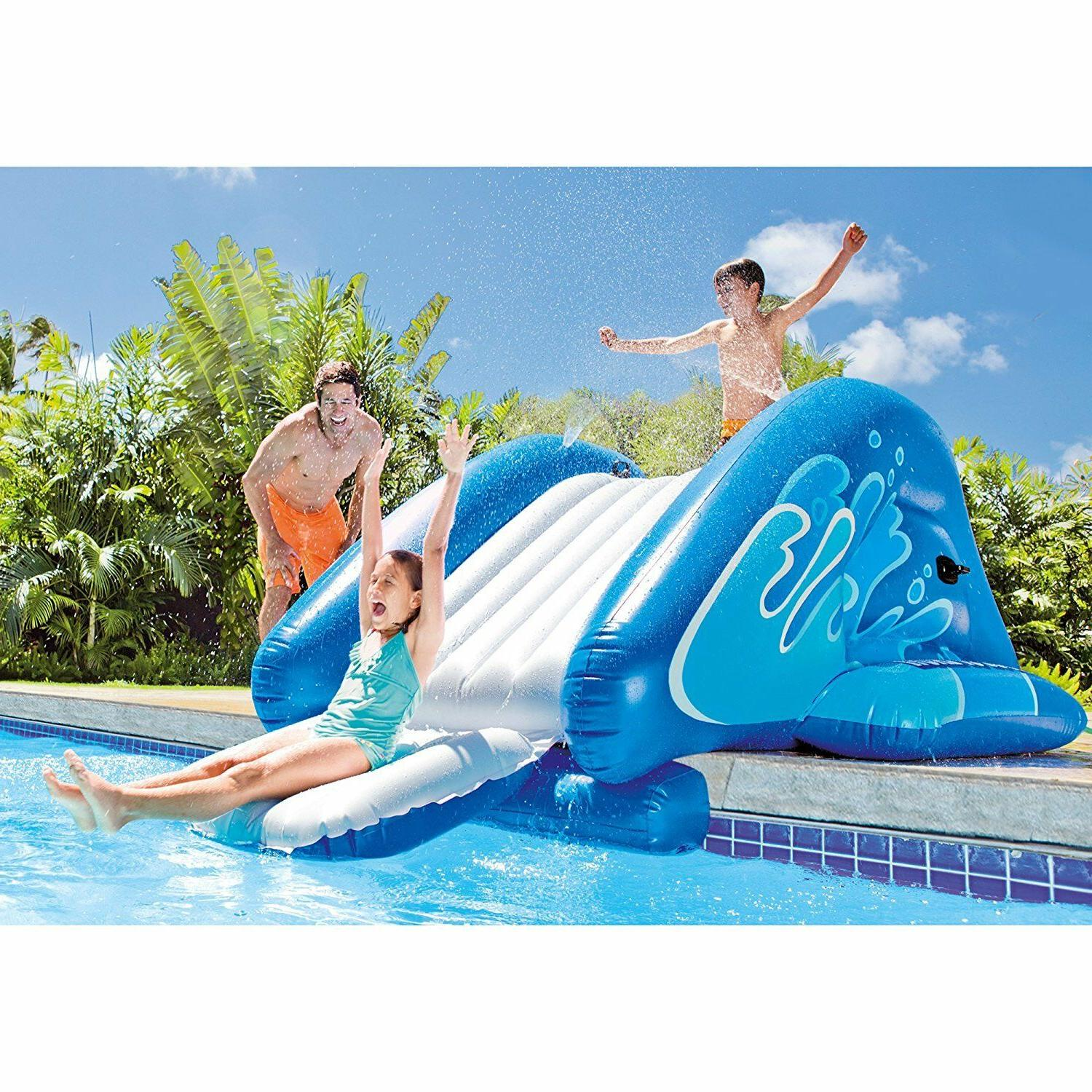 Intex Water Play Slide Kids Pump