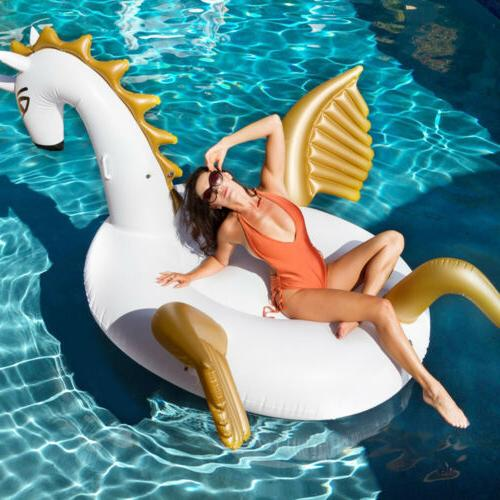 Geekper Inflatable Raft Swimming Pool Floats for Outdoor Gam