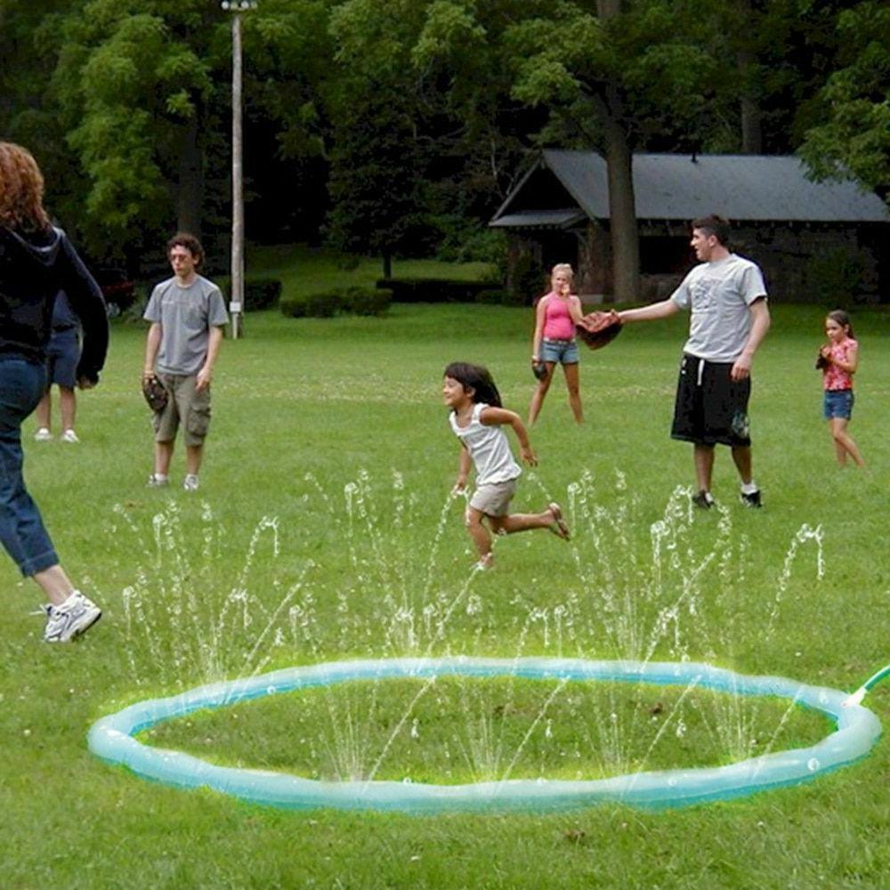 Inflatable Sprinkler Ring Children Swimming Lawn Sports