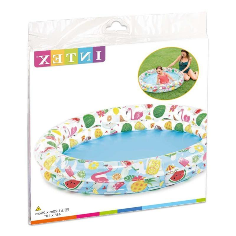 Intex Stars Kiddie 2 Ring Circles Pool